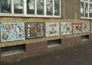 Hyltebjerg Skole: Børnenes egne kunstværker
