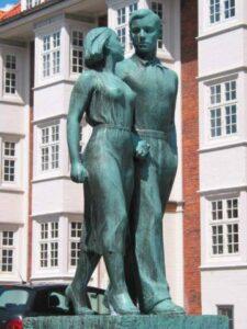Povl Søndergaard: Mand og pige