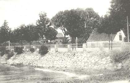 Ålekistehuset set fra søsiden