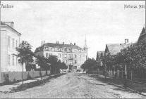 Holbergs Allé set mod Jernbane Allé ca. 1905-1910