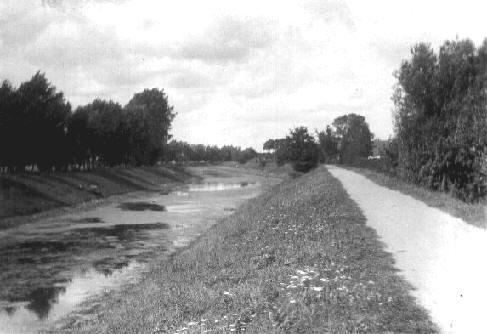 Kildeåen set mod nord ca. 1918