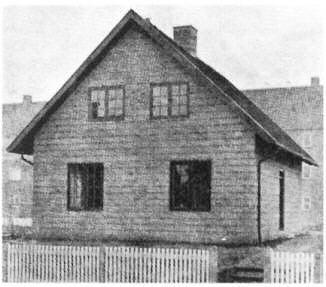 Ivar Bentsens forsøgshus på Enebærvej