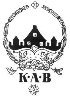 K.A.B.'s første bomærke