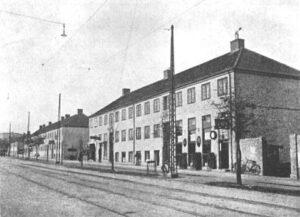 Store Bakkehuse ca. 1930