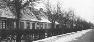 Rækkehusbebyggelsen Bakkehusene ved Hulgårdsvej