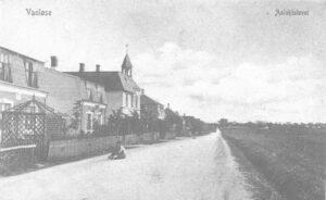 Ålekistevej i gamle dage