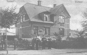Det første 'posthus'