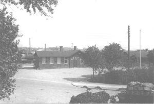 Vanløse Station ca. 1918
