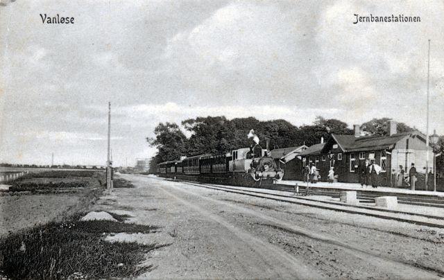 Damptog Ved Vanløse Station