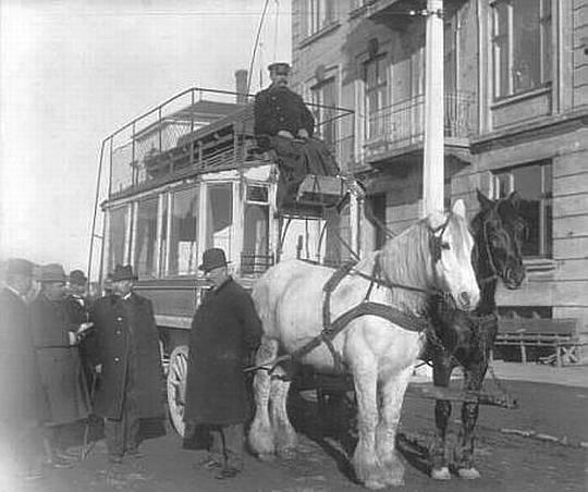 Vanløse Hesteomnibus Ved Vandløsehus