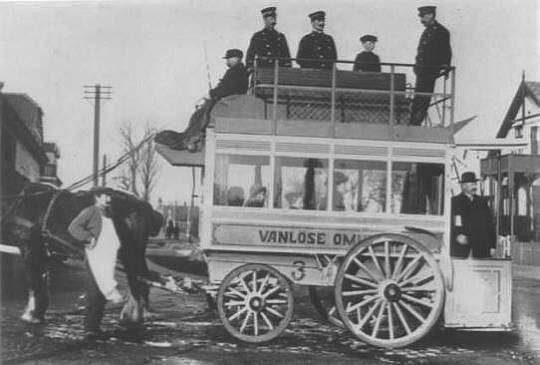 Vanløse Hesteomnibus På Ålekistevej