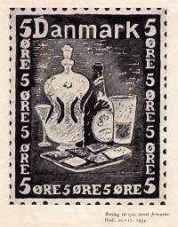 Forslag Til Nyt Frimærke, 1934