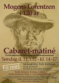 MOGENS LORENTZEN Cabaret-Matiné 11. marts 2012