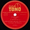 """Klik på Tono-pladen fra 1943 og hør Mogens Lorentzen læse """"Juletræet"""